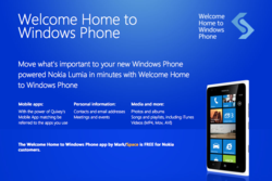 Windows Phone, Nokia Lumia, Welcome Home, App